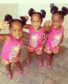 Baby Identical Triplet Girls