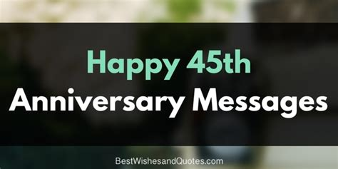 beautiful happy  anniversary messages