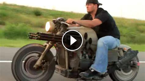honda gatling gun motorcycle