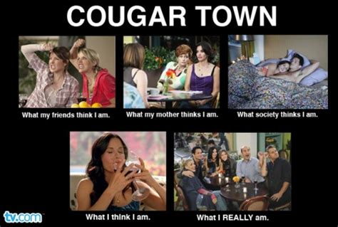 Cougar Memes - our very own cougar town meme tv shows i love pinterest