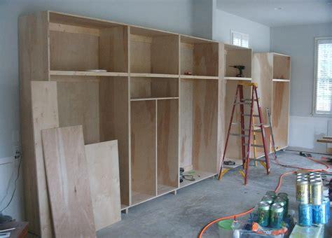 diy garage cabinets with doors unfinished custom diy homemade wood garage storage cabinet