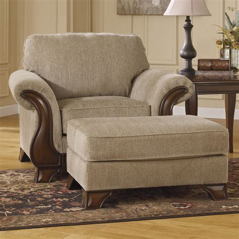 Ottoman Furniture by Signature Design Lanett Chair Ottoman With