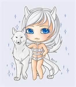 Anime Chibi Wolf Girl Drawing
