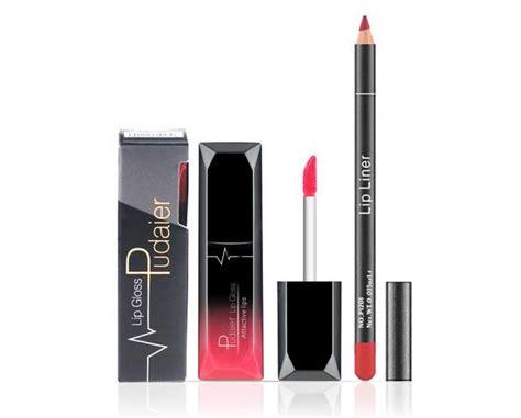 12 colors matte liquid lipstick lipgloss pink orange lip contour lipliner lip gloss