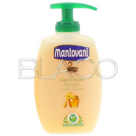 Sapone Mantovani by Mantovani Sapone Neutro Liquido Miele E Pappa Reale