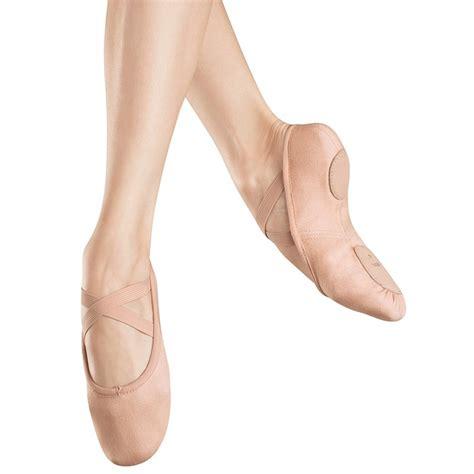 pink harmonie flatshoes bloc pro arch canvas split sole ballet shoe