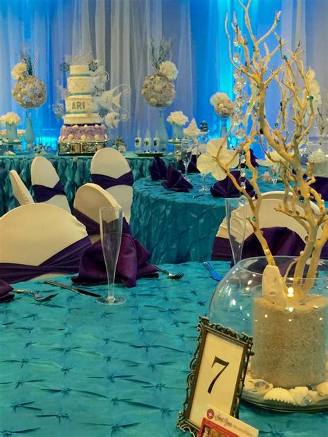 winter    sea quinceanera party ideas photo