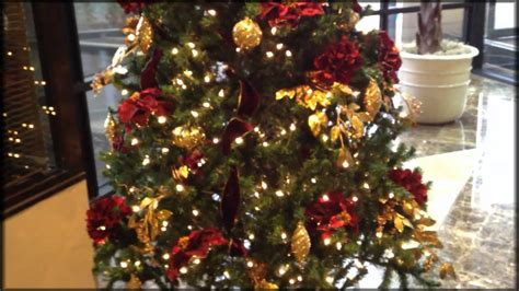 decorate  christmas tree professionally youtube