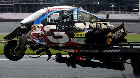 Crash At Nascar Daytona