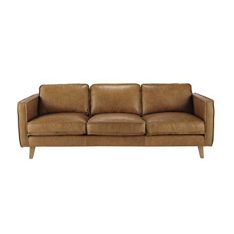 divano cuoio divano vintage color cammello in cuoio 3 posti