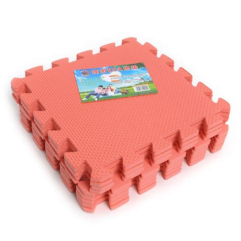 Floor Foam Mats For Babies by 9pcs Interlocking Foam Exercise Floor Mats Garage