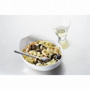 Assiette Pour Pates : assiette salade p te en porcelaine blanche ~ Teatrodelosmanantiales.com Idées de Décoration