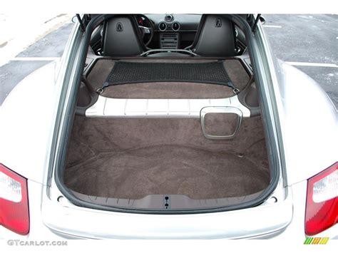 porsche trunk 2007 porsche cayman standard cayman model trunk photo