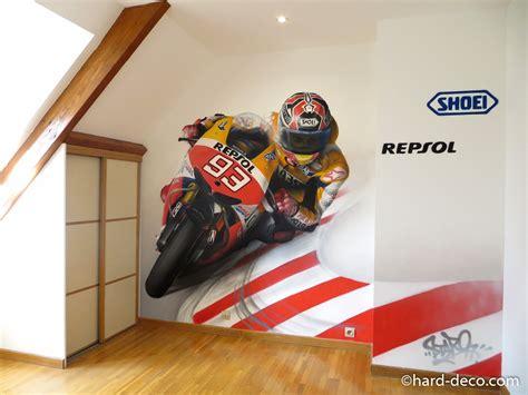 theme deco chambre deco chambre garcon theme moto