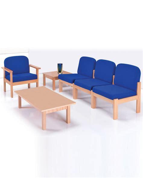 kursi tunggu besi kayu informa stainless sofa