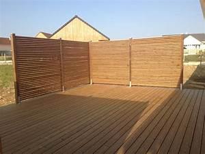 Sichtschutz Sichtblende Zaun Holz