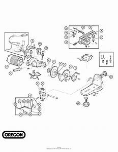 Oregon Forestry Accessories Parts Diagram For Replacement