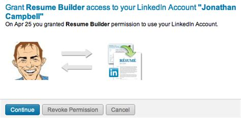 how to create a cv in 30 seconds using your linkedin