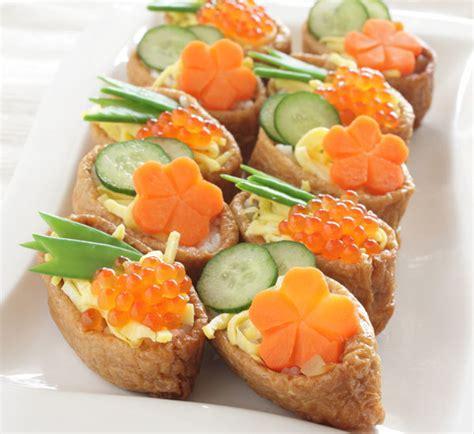 sushi canapés recipe centre