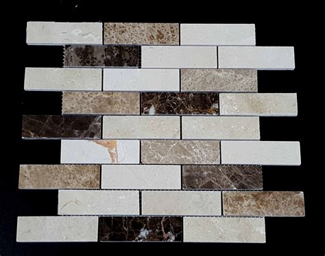 marble tile outlet stone mosaics sq25 1 25x4 marble outlet product