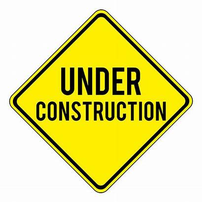 Construction Under Signs Pink Site Soon Coming