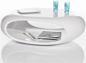Table Basse Blanc Laqué Ikea : petite table basse blanc laqu table basse rectangulaire trendsetter ~ Teatrodelosmanantiales.com Idées de Décoration