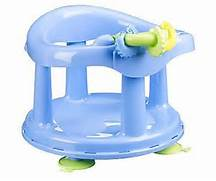 Safety First 1st Baby Bath Seat Tub Ring Chair Swivel. safety ...