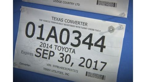 texas temporary license plate how many times can you get a temporary license plate in best plate 2018