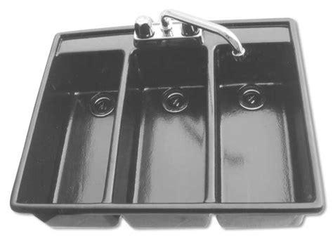 Three Compartment Drop In Sanitizing Sink Moli International