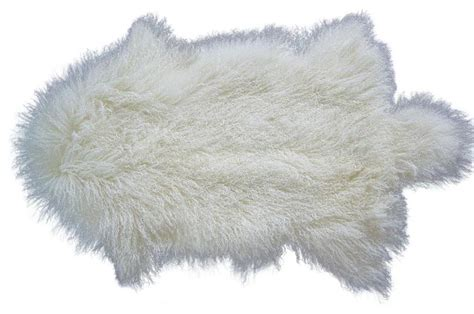 Living Area Rugs by Tibetan Lamb Fur Rug Contemporary Area Rugs By Curly