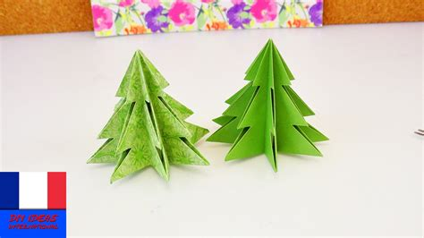 sapin de no 235 l origami pliage pour les f 234 tes papier et ciseaux