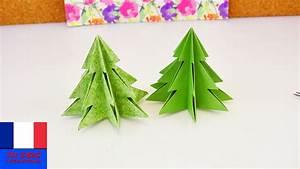 Sapin Noel Carton : sapin de no l origami pliage pour les f tes papier et ciseaux youtube ~ Voncanada.com Idées de Décoration