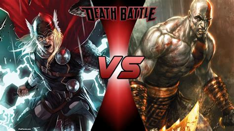 Image Thor Vs Kratos Death Battle Fanon Wiki