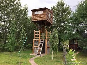 Cabane Dans Les Arbres Construction : construire une cabane dans les arbres maisonnette perch e id e ~ Mglfilm.com Idées de Décoration