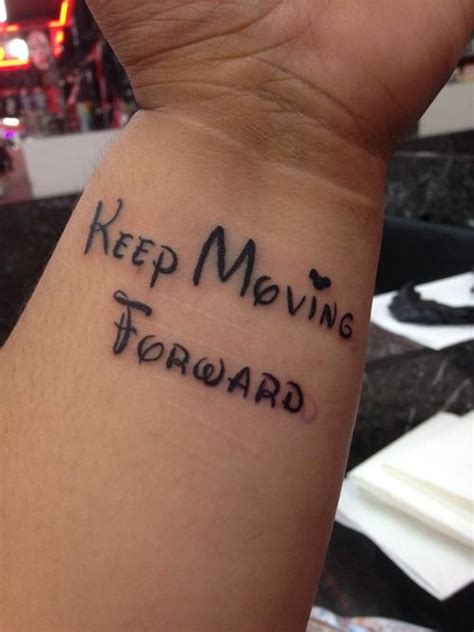 Tattoo Quotes About Moving Forward In Life