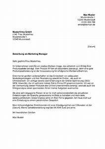 Bewerbung Online Anschreiben : muster anschreiben marketing ~ Yasmunasinghe.com Haus und Dekorationen