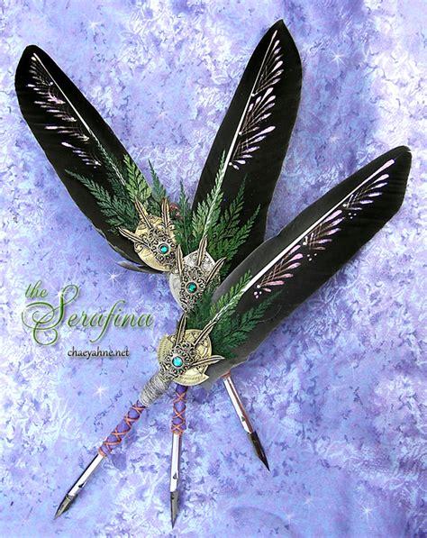 serafina golden compass feather quill