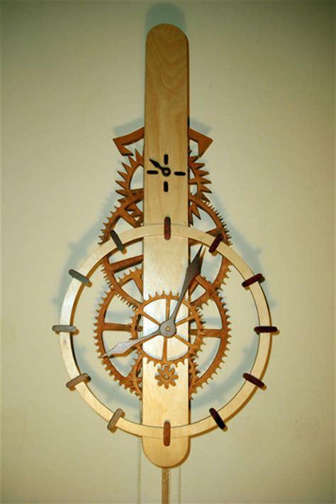 wooden clock mechanisms plans  woodworking
