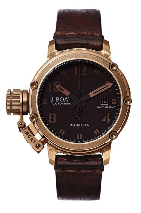 Change Time On U Boat Watch by News U Boat Unveils A New Range Of 43 Mm Limited Edition