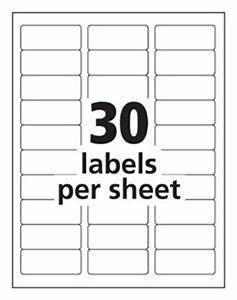 search results for avery labels 30 per sheet template With avery mailing labels 30 per sheet