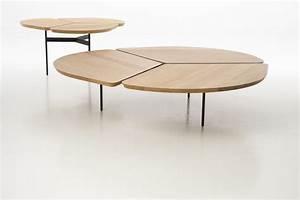 Table Basse Grande Taille : table basse ronde chene grande table salle a manger ~ Teatrodelosmanantiales.com Idées de Décoration