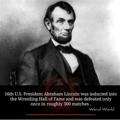 Meme Hall Of Fame - 16th us president abraham lincoln was inducted into the
