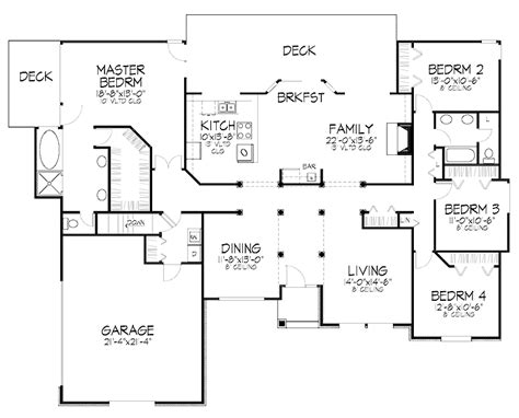 bedroom bungalow plan  nigeria  bedroom bungalow