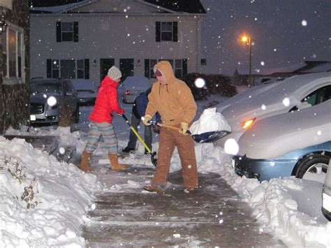 Scottsbluff Herald Classified by Scottsbluff Sees Foot Of Snow With Winter Local