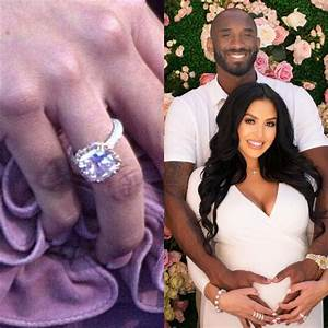 these 8 celebrity engagement rings will have you green With vanessa bryant wedding ring
