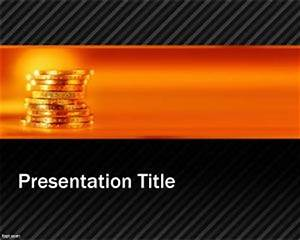 Microsoft Powerpoint Themes 2010 Golden Opportunity Powerpoint Template
