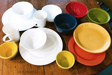 colorful dishes white dishes vs colorful dishes which is better color911