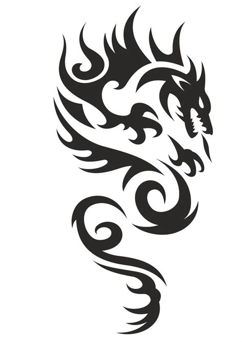 celtic phoenix tattoo dragon vector  vector cdr
