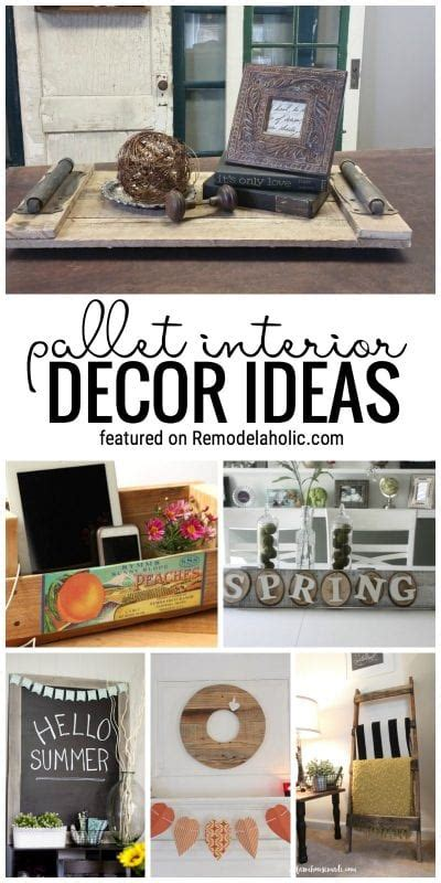 Decorating Ideas Using Pallets by Remodelaholic 65 Pallet Decor Ideas