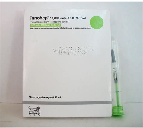 INNOHEP 10.000 U.I (3500/0.35ML) 10 SYRING 0.35ML price